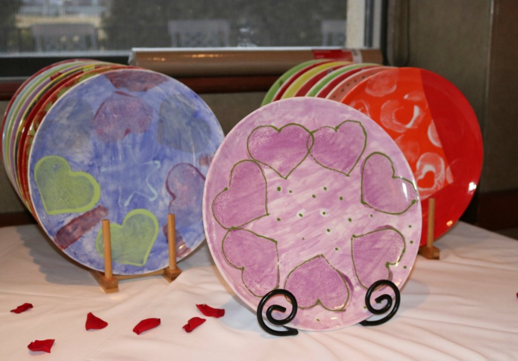 stepping-stones-open-your-heart-commemorative-plates-made-by-adult-day-program-participants-norwood-ohio