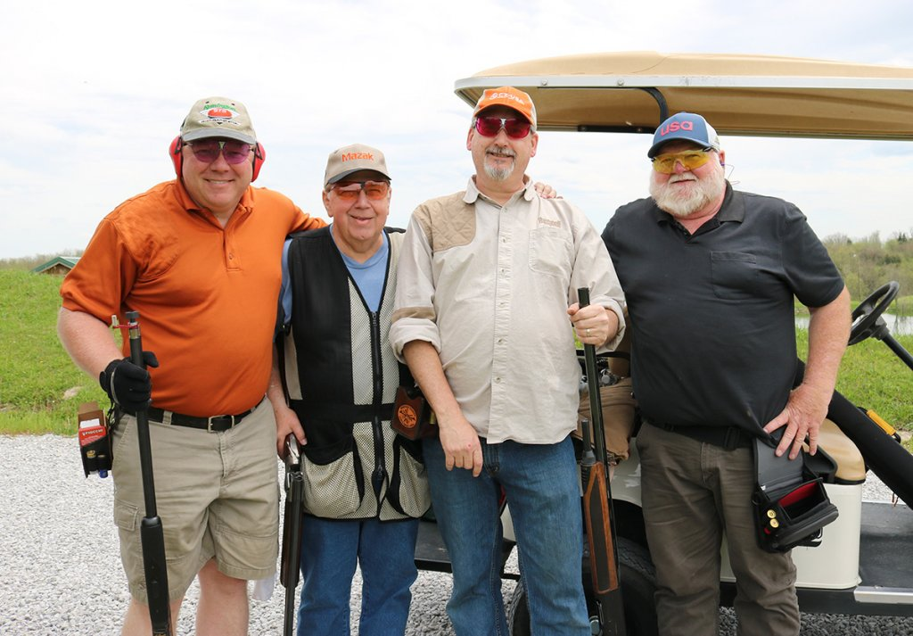 Stepping-stones-sporting-clays-tournament-flipdaddys-winning-team-Bill-Mell-Jr.Bill-Mell-Robin-Getz-Bill-Butt