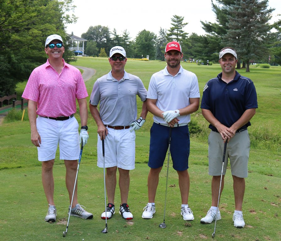 stepping-stones-golf-classic-cornerstone-insurance-john-friedman-bill-stacy-patrick-shiels-bill-mccarthy
