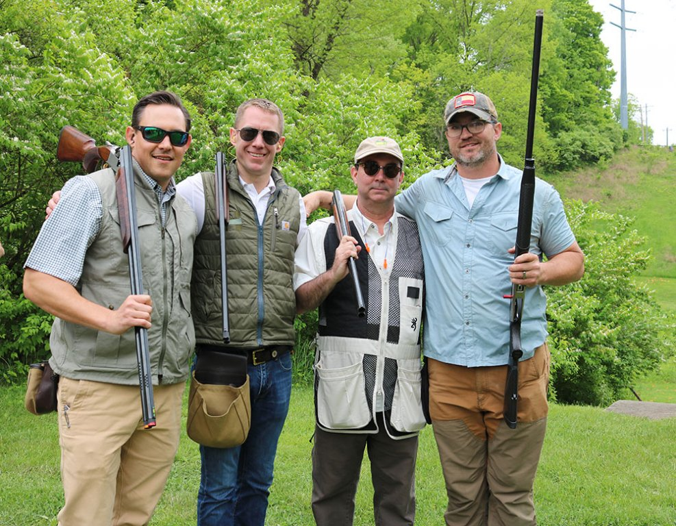 stepping-stones-sporting-clays-tournament-nathan-neyra-aaron-hansen-george-sherrill-burke-byer