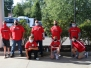 LaSalle High School Freshmen and Fathers Volunteer at Stepping Stones