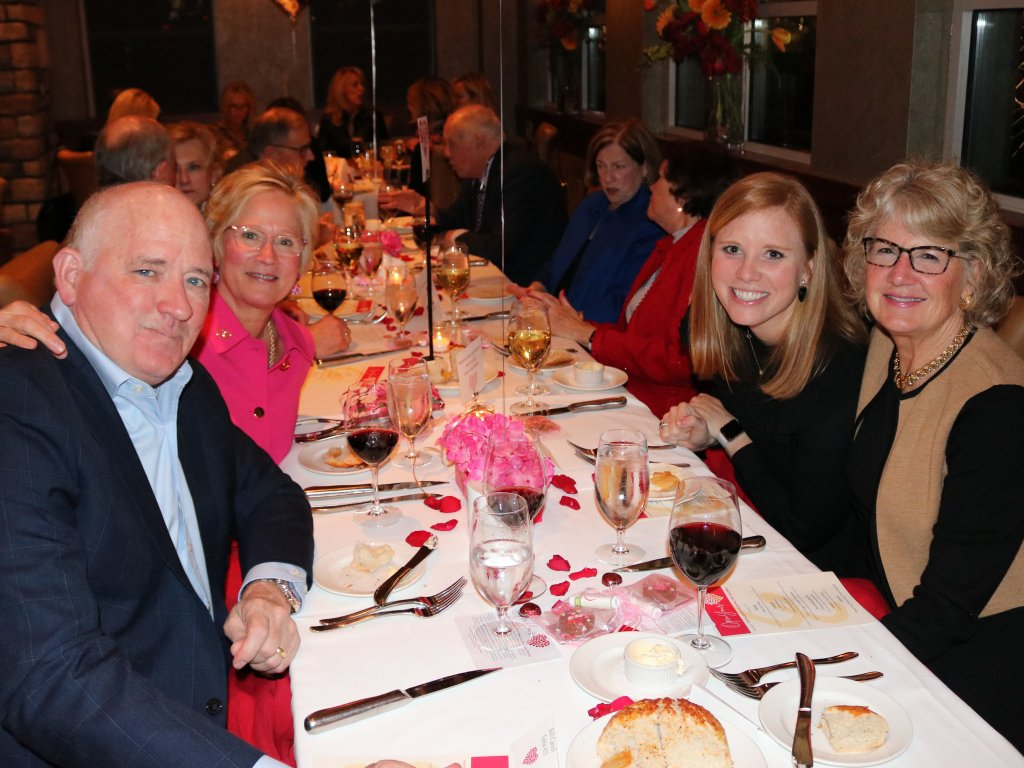 Bill Carroll- IH, Mary McGraw - OYH Founder, Marty Walsh- Anderson, Beth Caroll