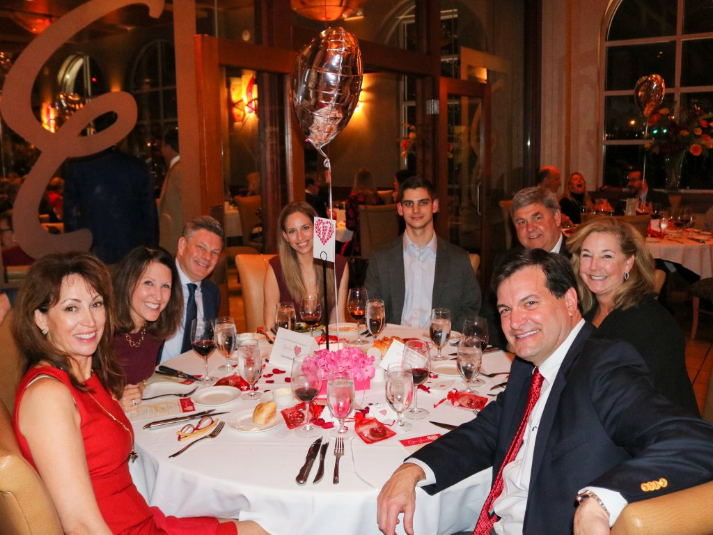 Claire Elson - Open Your Heart Committee Member, Debbie & Chip Graeter, Nora Elson, Mark Johnson, Rich & Jeannie Shurmer, Dave Elson