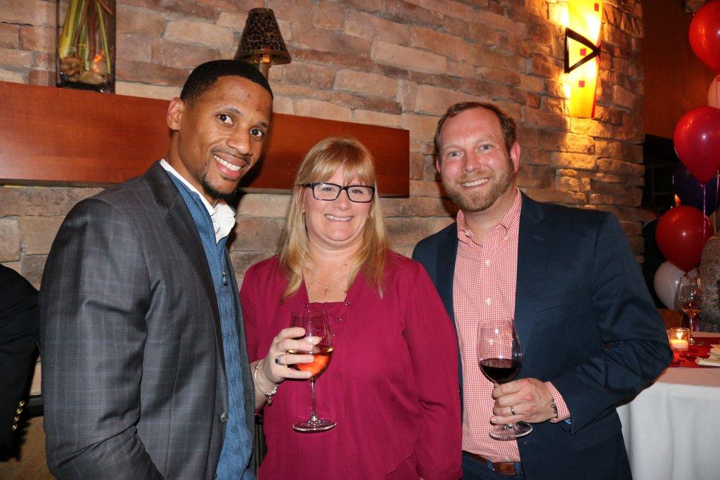 Karl Daniels- Rose Lawn, Melissa Geis Stepping Stones Executive Director, Ward Heilbronner- Terrace Park