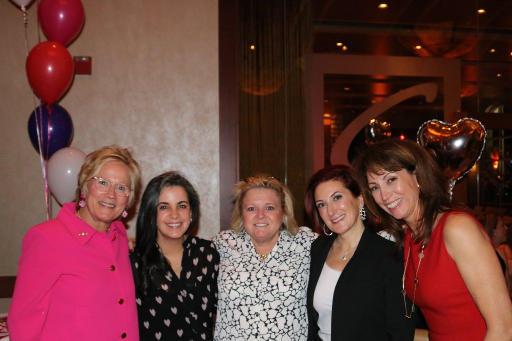 Open Your Heart Commitee Members, Mary McGraw, Gigi Heidt, Patti Zesch, Dina Taylor & Clair Elson - Missing Debbie Alf