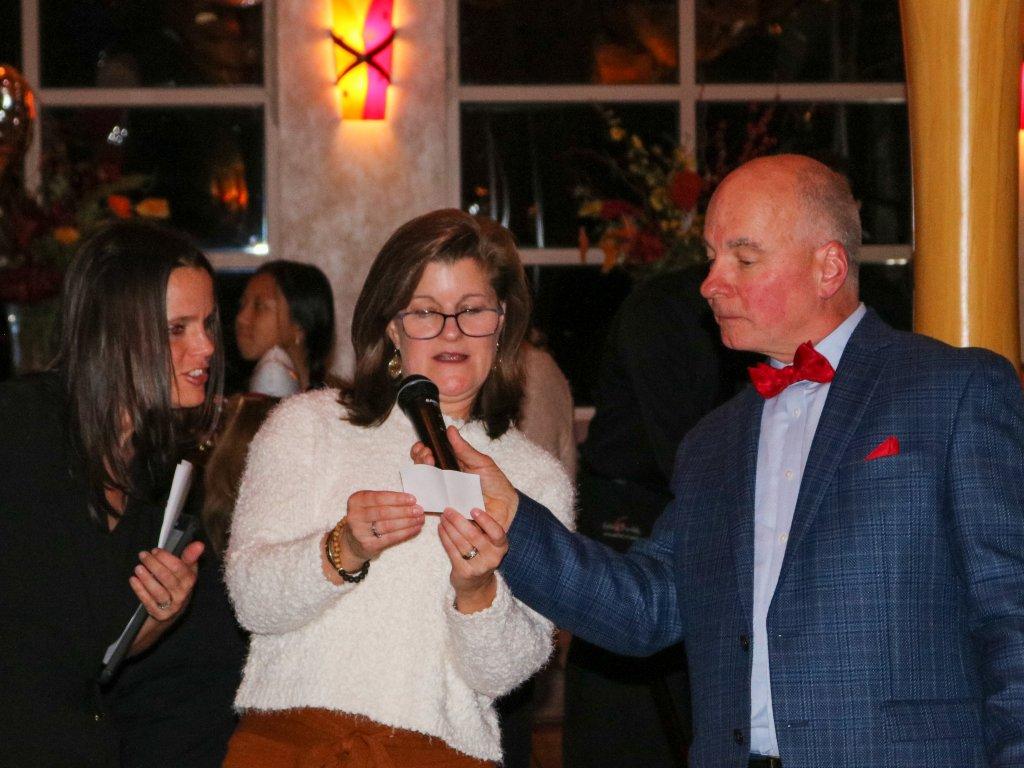 SS Board of Trustees President, Whitney Eckert & SS Executive Director Chris Adams