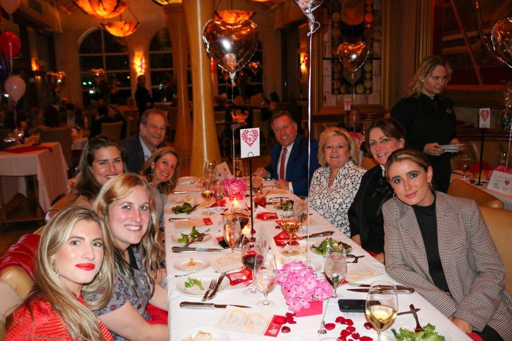 Sweetheart Sponsors -J Cromer Mashburn Family Foundation, Rob & Patti Zesch Open Your Heart Chair