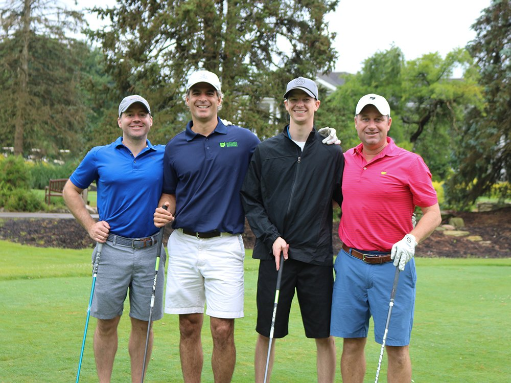 stepping-stones-golf-classic-Adam-Morton-Charlie Rittgers-Josh-Sillies-Andy-Lallathan-cincinnati
