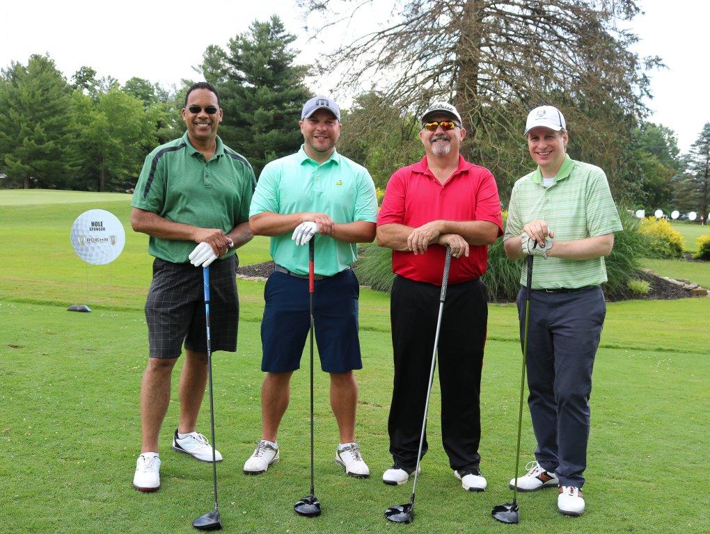 stepping-stones-golf-classic-sugarcreek-team-paul-sturkey-zach-shepard-murray-sauret-brandon-fortener-cincinnati-ohio