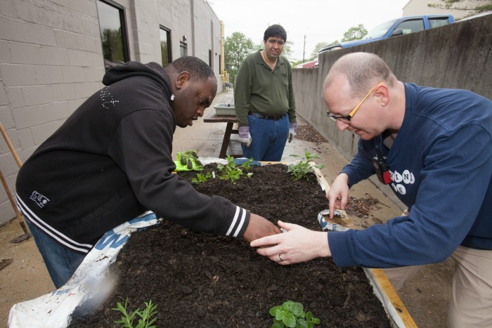 Adults With Disabilities Grow A Vegetable Garden At
