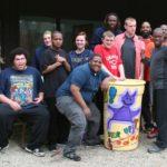 Step-Up Students complete colorful rain barrel project in Cincinnati, Ohio