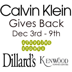Holiday Shopping for Stepping Stones I Calvin Klein Gives Back
