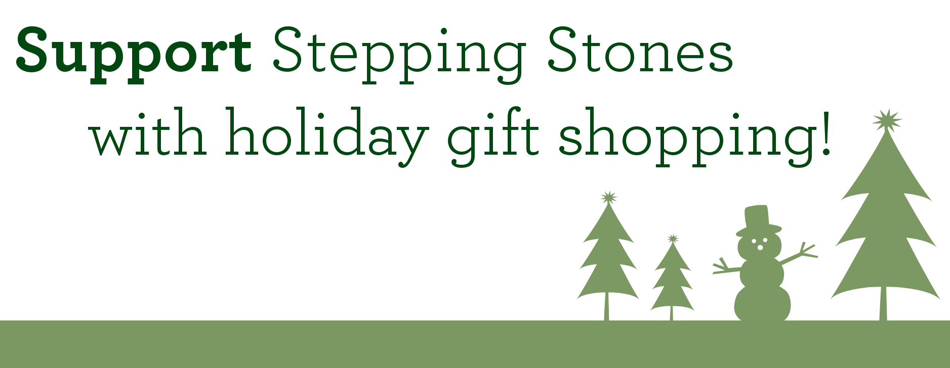 Holiday Shopping for Stepping Stones I Cincinnati, Ohio