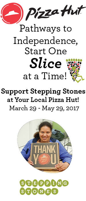 Stepping Stones Pizza Hut Campaign - Greater Cincinnati