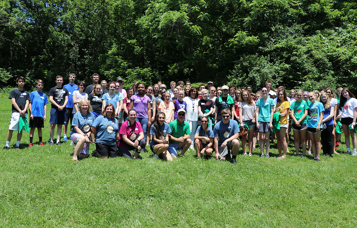 Stepping Stones Student Volunteer Orientation on June 3 I Cincinnati, Ohio