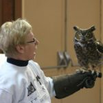 Raptor, In. Visits Stepping Stones Adult Day Program I Batavia, Ohio