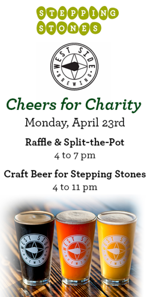 West Side Brewing Cheers for Charity Fundraiser Raises Support for Stepping Stones I Cincinnati, Ohio