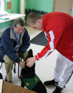 Students with Autism enjoy therapy dog visits at Stepping Stones I Cincinnati, Ohio