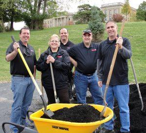Stepping Stones Maintenance Volunteer Groups in Cincinnati Ohio