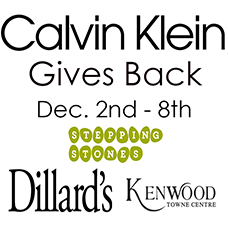 Calvin Klein Gives Back Shopping Event Supports Stepping Stones programs for people with disabilities at Kenwood Towne Centre I Cincinnati, OH