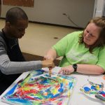 Visionaries + Voices partners with Stepping Stones program for students with autism.