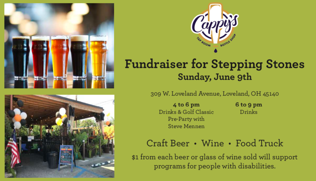 Cappys Loveland Location to Host Fundraiser for Stepping Stones Programs Serving People with Disabilities