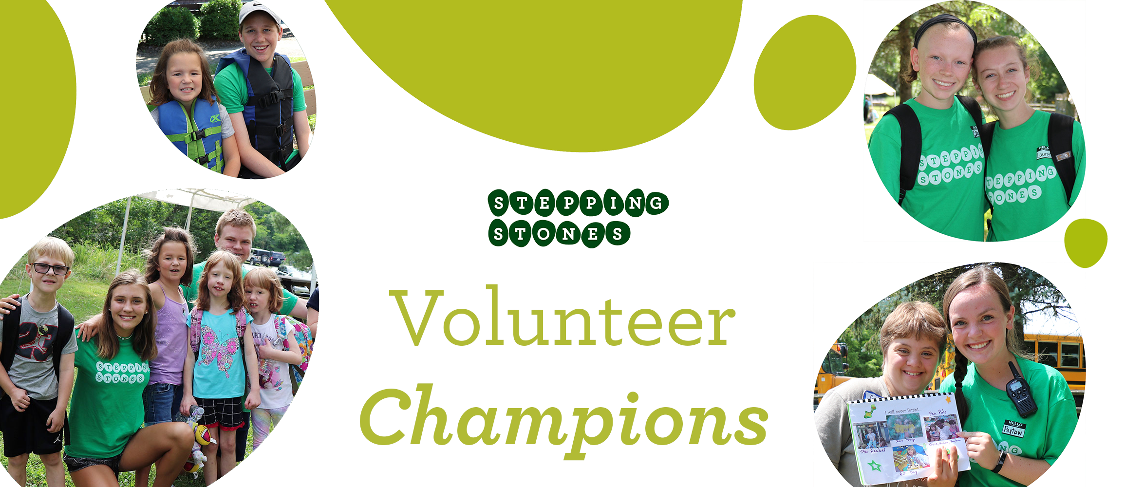 Stepping Stones Volunteer Champions Program I Cincinnati, Ohio