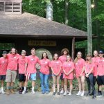 Kings High School Student Service Day at Stepping Stones Camp Allyn in Batavia, Ohio