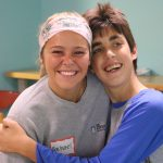 The Christ College Nursing students volunteer at Stepping Stones Weekend Respite program at Camp Allyn.