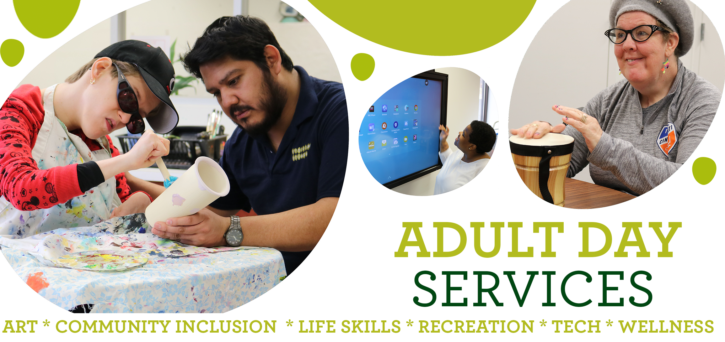 Stepping Stones Adult Day Services Program for Individuals with Disabilities I Greater Cincinnati