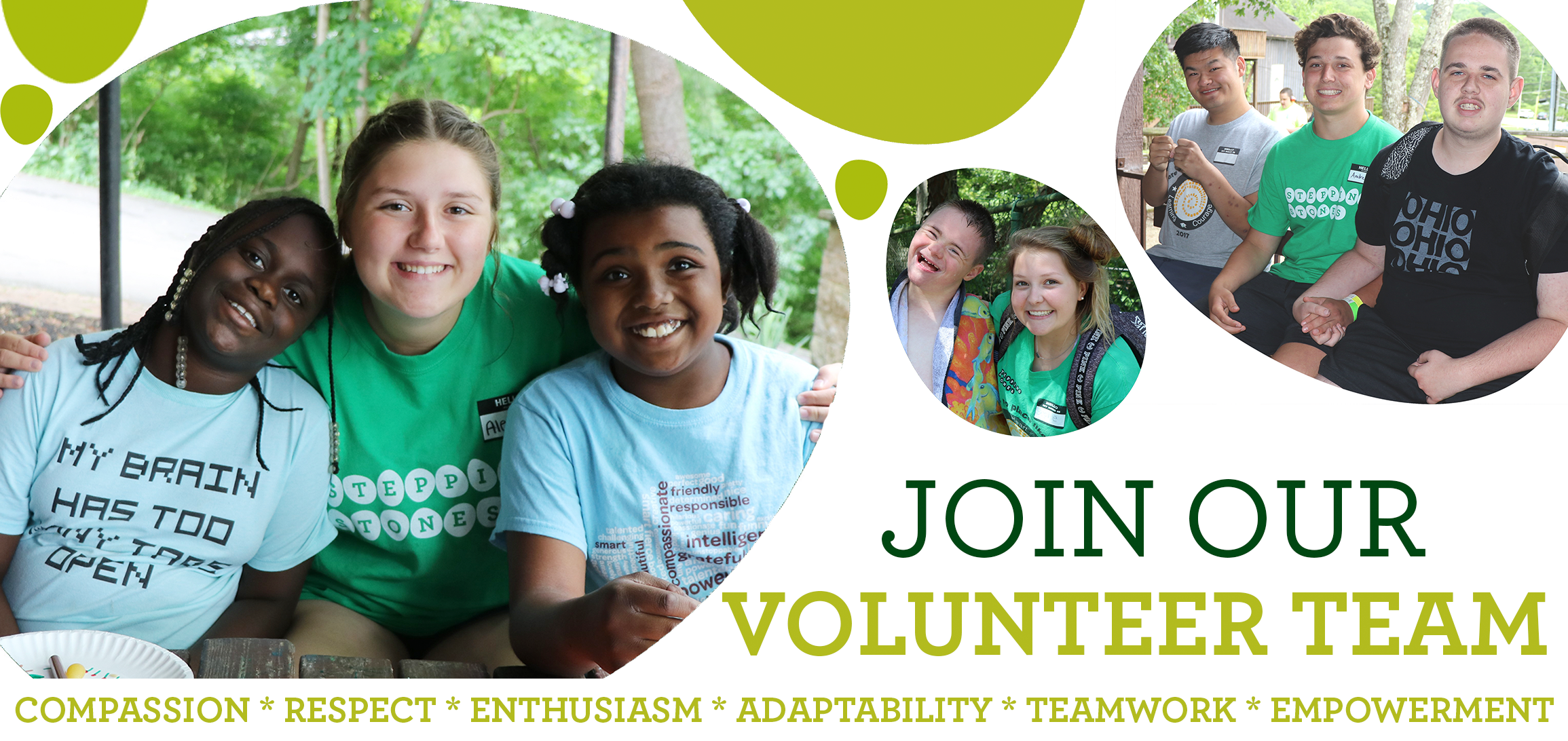 Summer Volunteer Opportunities at Stepping Stones