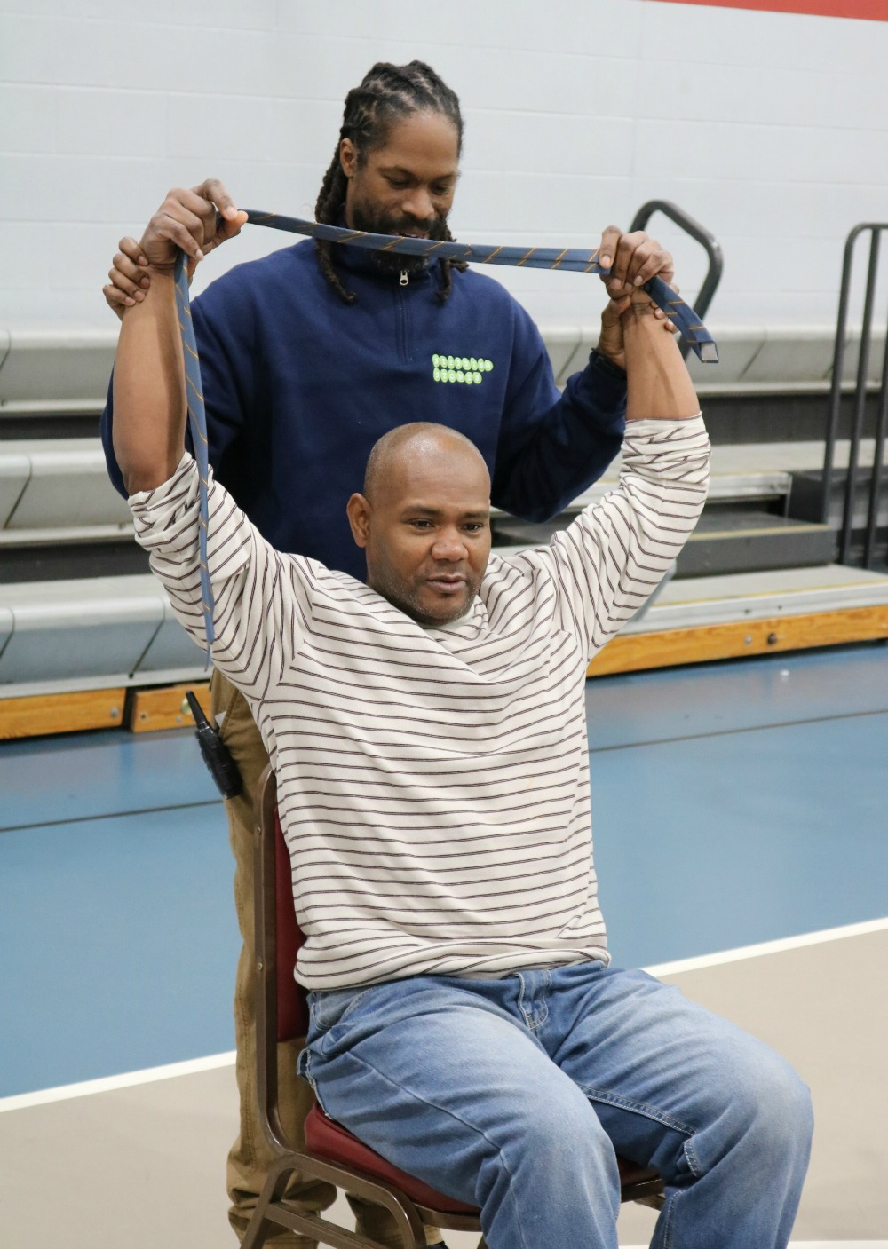 Chair Yoga Comes to Adult Day Services at Stepping Stones I Cincinnati, Ohio