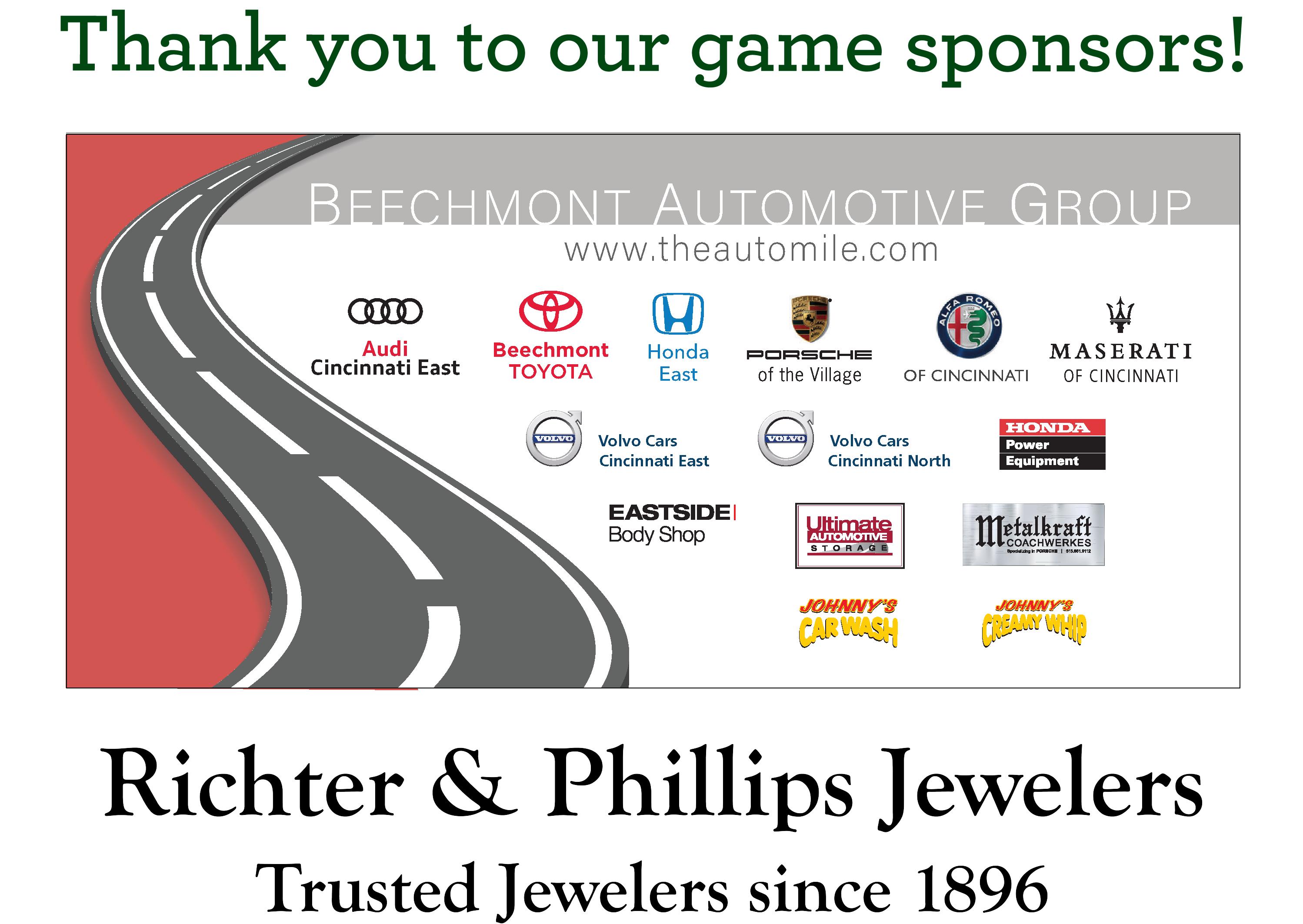 Game Sponsors